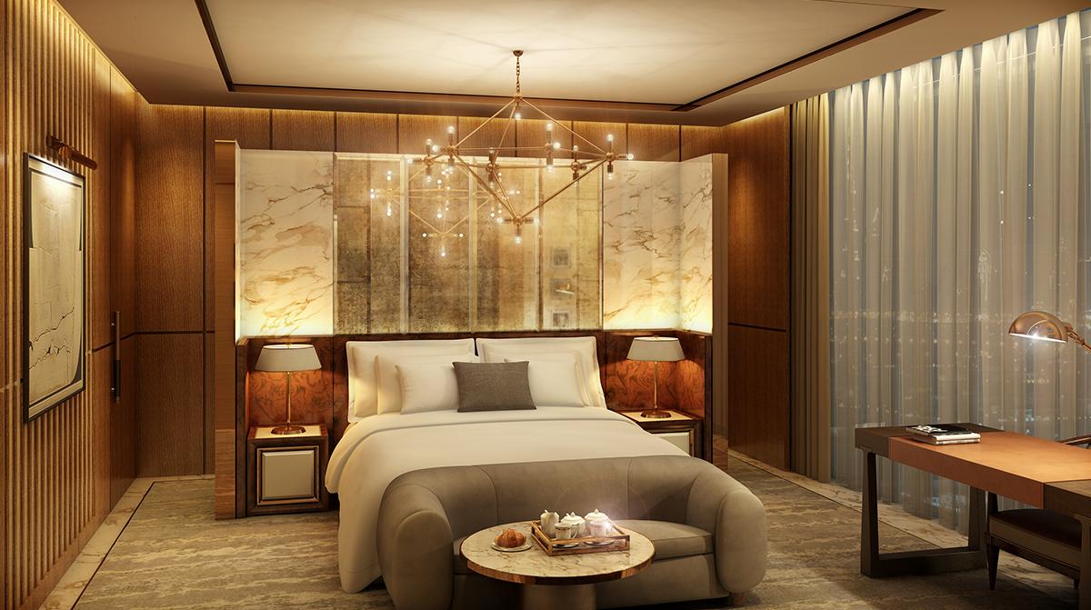 Waldorf astoria residences for International decor dubai