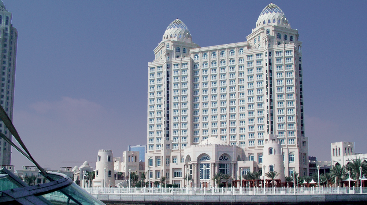 Four seasons hotel doha for Architecture firms in qatar