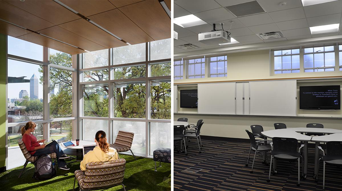 G wayne clough undergraduate learning commons - Interior design firms atlanta ga ...