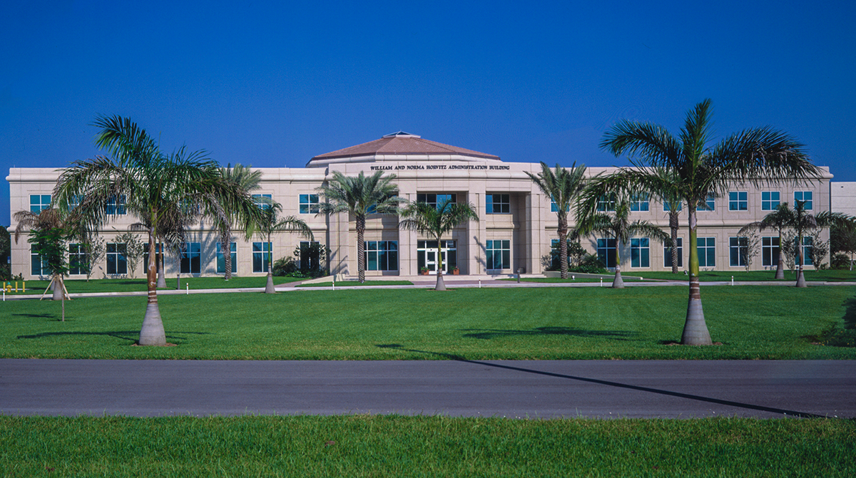 The William And Norma Horvitz Administration Building