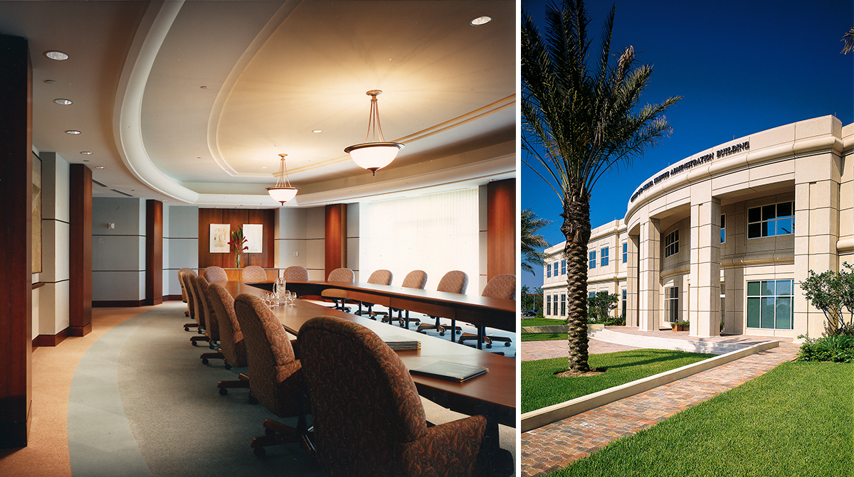 The william and norma horvitz administration building for Architecture firms fort lauderdale