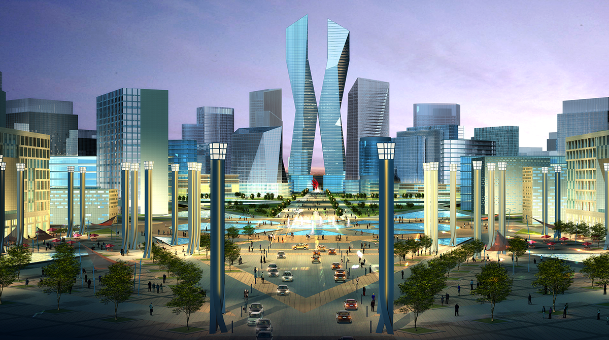 Yinchuan Central Business District