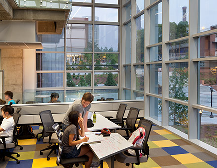 G Wayne Clough Undergraduate Learning Commons Interior Design Georgia Institute Of Technology