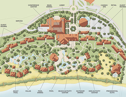 Resort Master Planning: SRSS Architectural Resort Designs